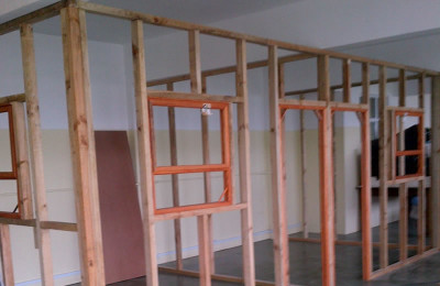 Internal renovation- Construction of office space