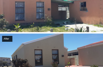 Refurbishment of existing free standing property in Strandfontein, Cape Town