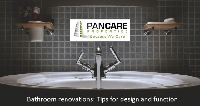 Bathroom renovations: Tips for design and function