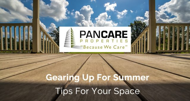 Gearing Up For Summer, Tips for your space