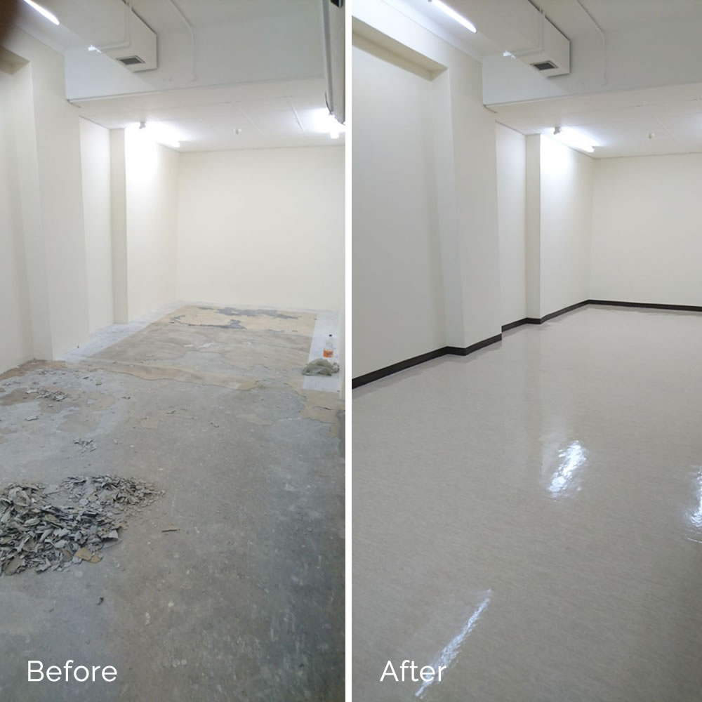 Pancare Properties | Flooring Project | Groote Schuur Hospital | Cape Town